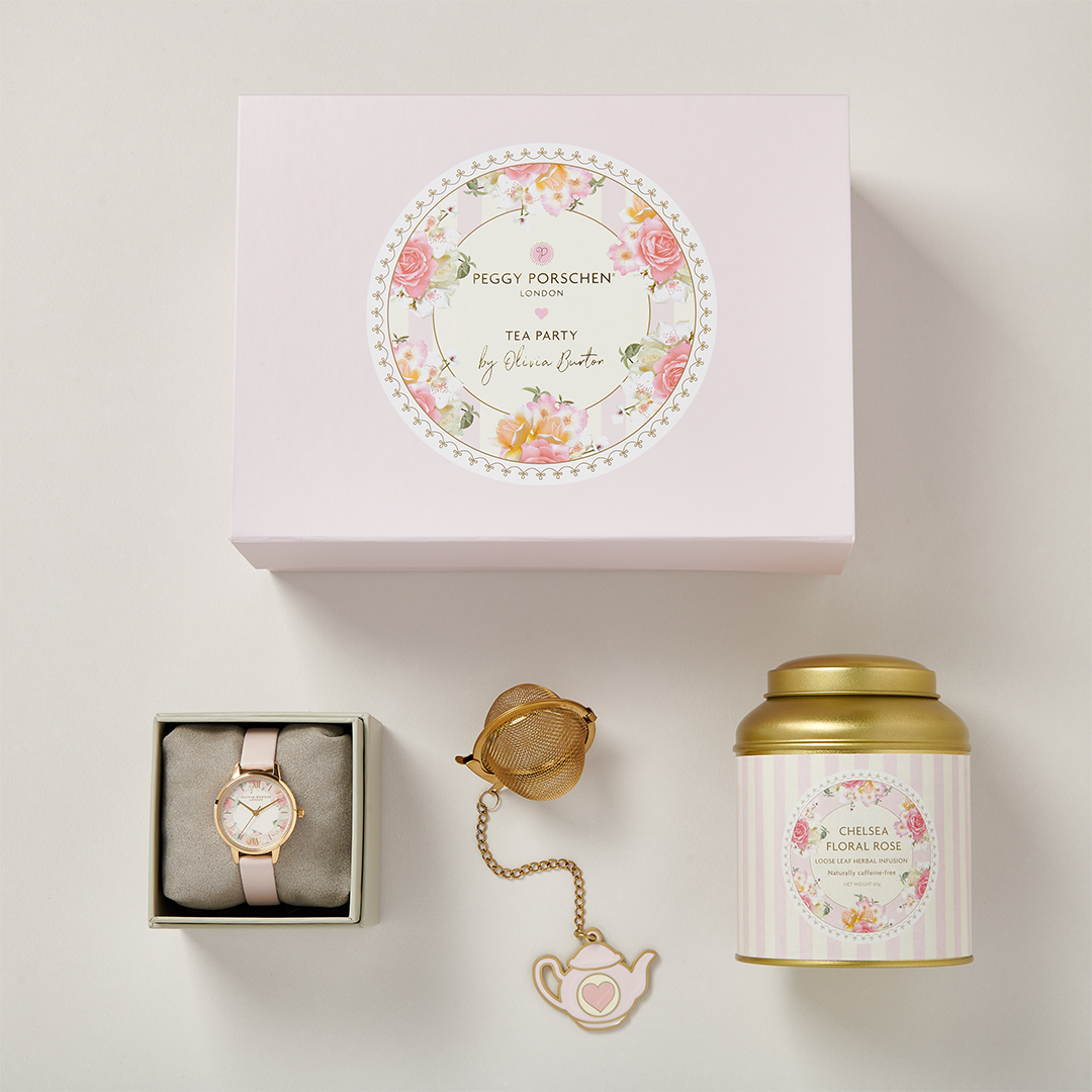 Olivia Burton Collaborates With Peggy Porschen On Limited-Edition Tea Party Gift Set