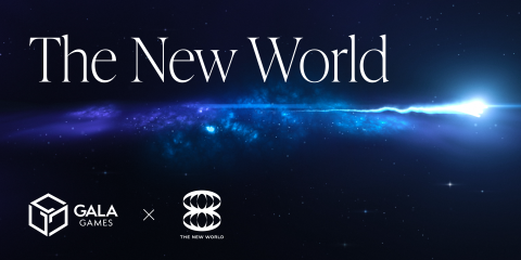 The New World. Gala Games announced as the official platform and technology partner of 888 The New World