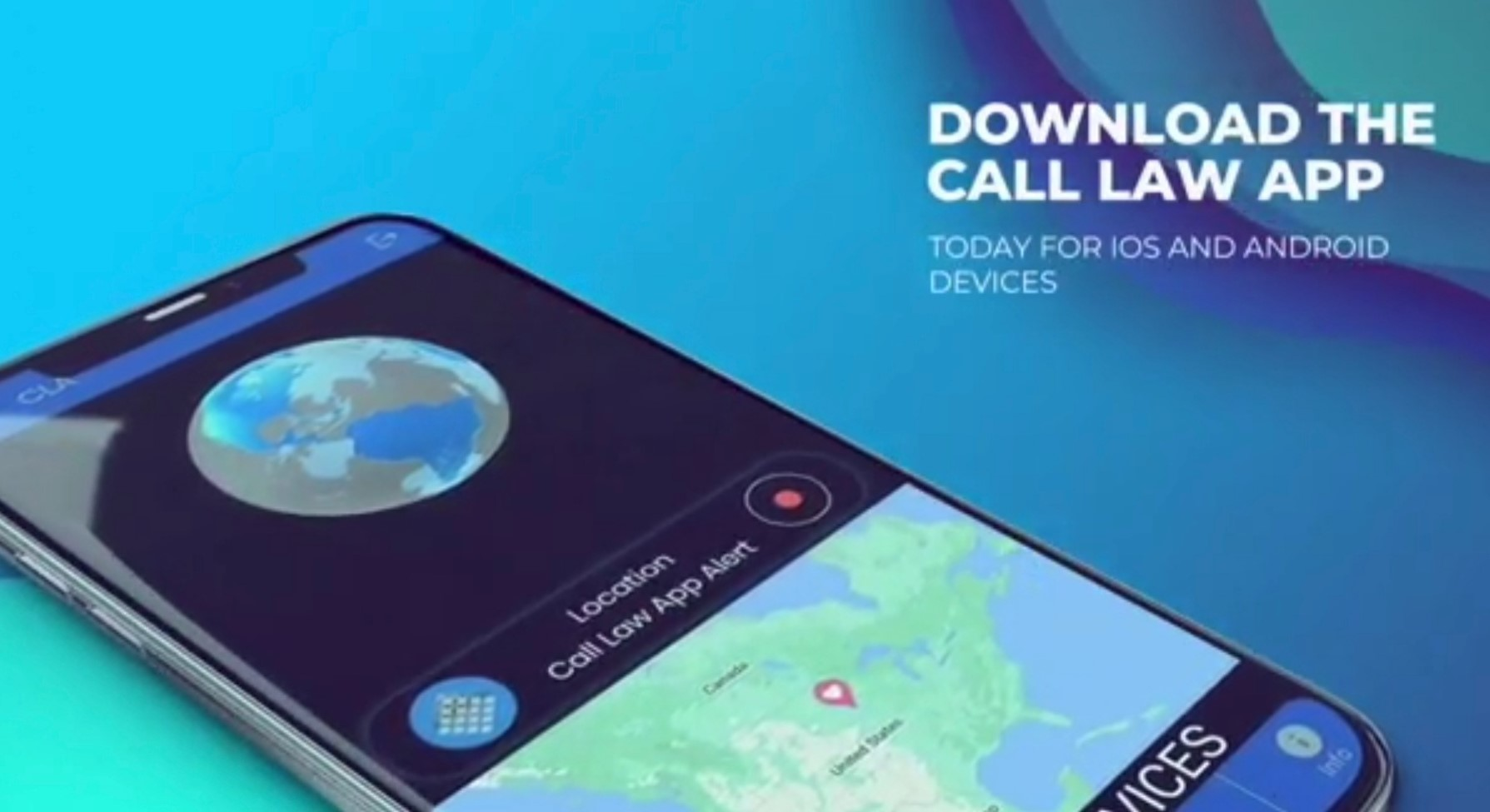 CALL LAW APP Version 2.0 Available for IOS and Android