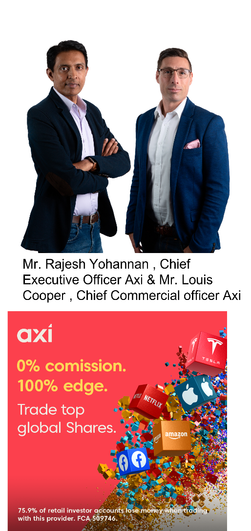 Top FX and CFD provider Axi adds Share CFD trading products to global offerings