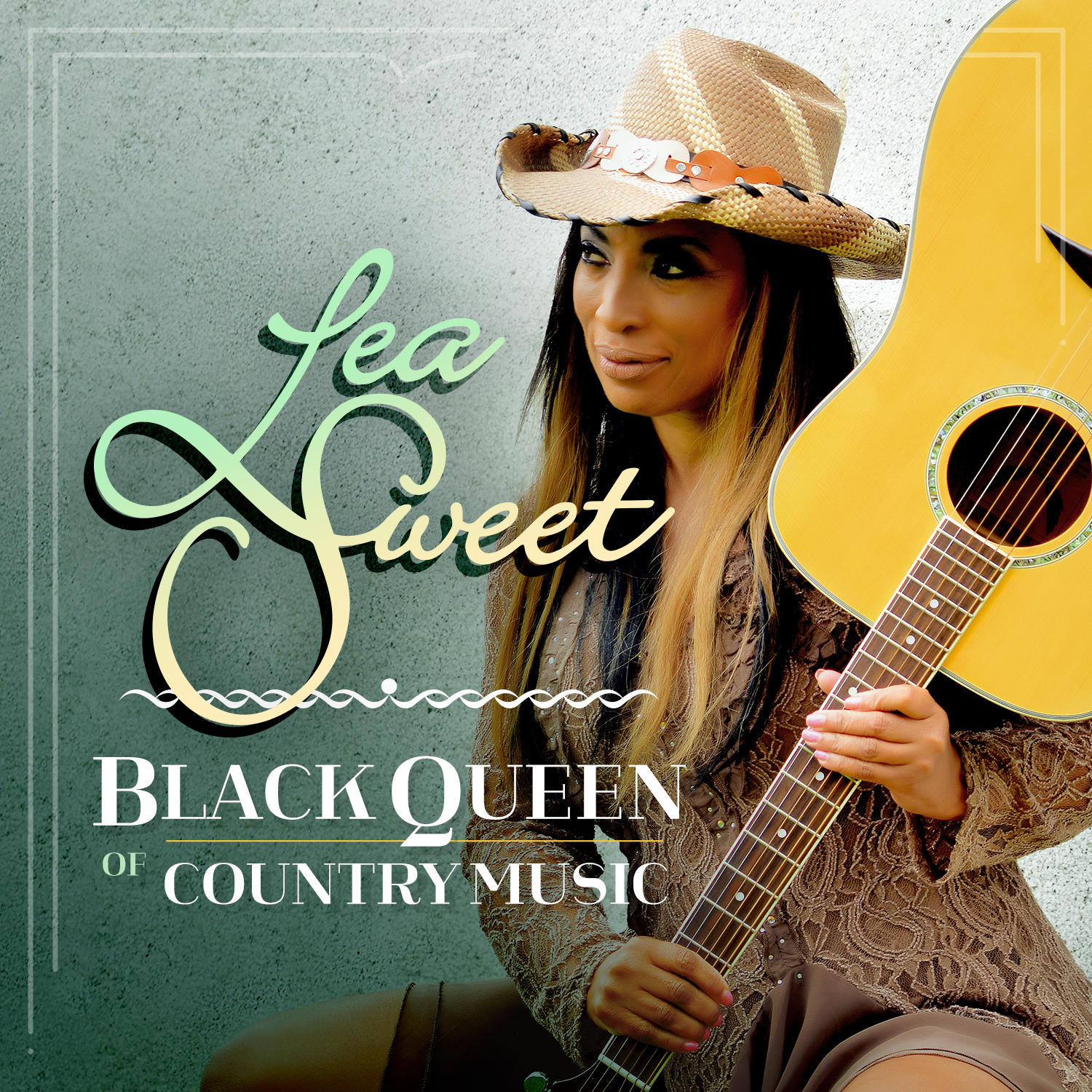 The Black Queen of Country Music, Lea Sweet, Releases Her Eponymous Album with Great Acclaim