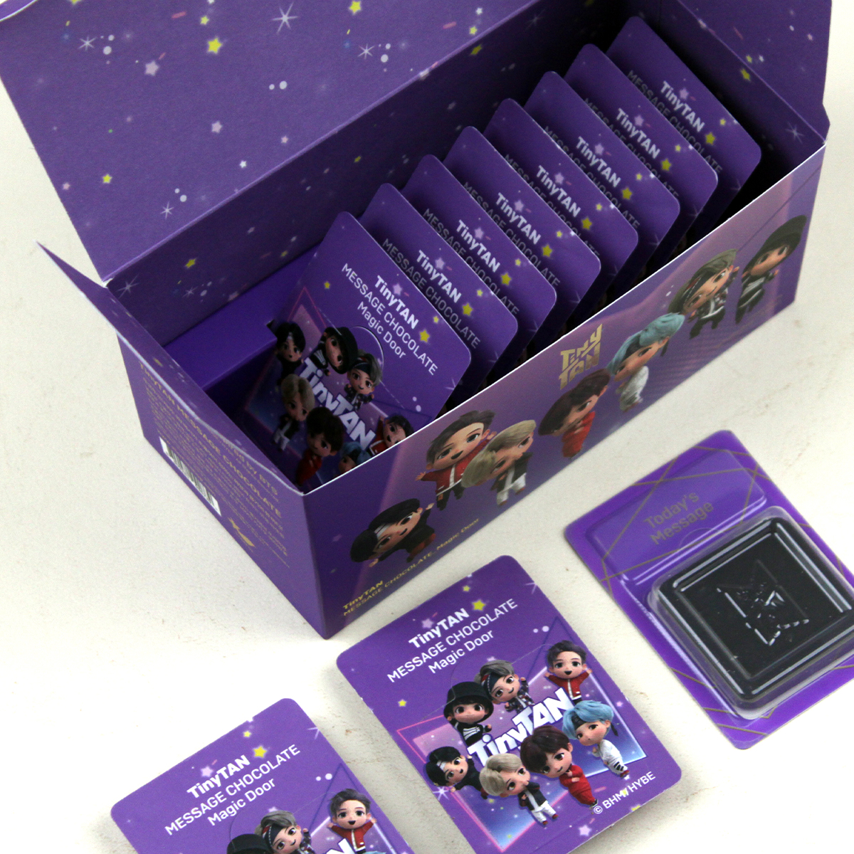600 sweetest messages of BTS delivered with more than chocolate.com