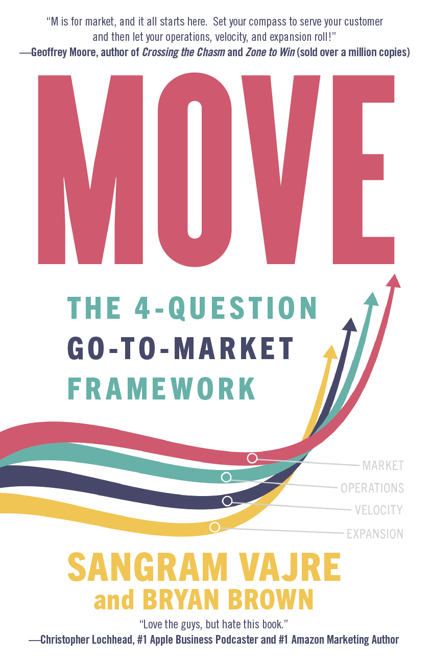 Terminus' Sangram Vajre Offers a New Book That is a Must-Have For Go-to Market Leaders