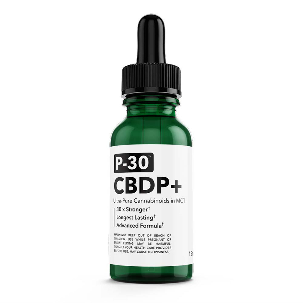 Spyglass Wellness P-30™ CBDP+ tincture offers versatility and industry-leading potency