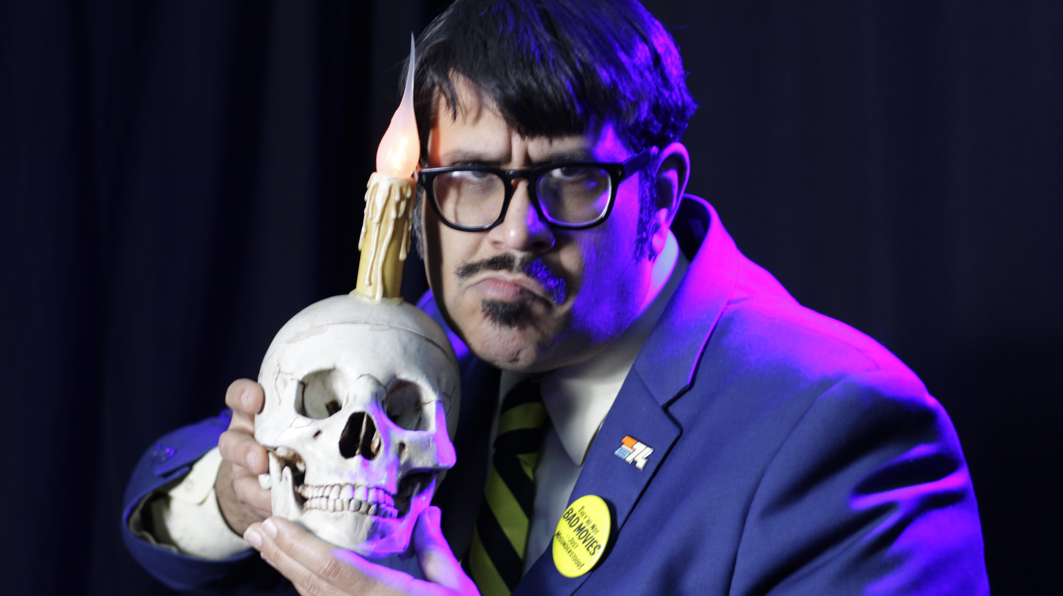 Mr.Lobo, Host Of Cinema Insomnia, Inducted Into The Horror Host Hall Of Fame