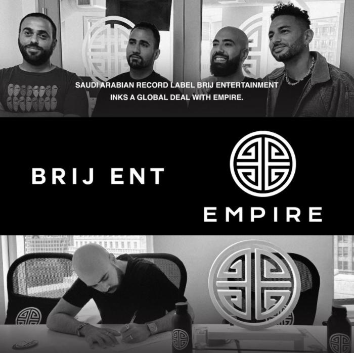 Brij Entertainment Bridges Cultures Through Music Following a Global Partnership Deal With EMPIRE