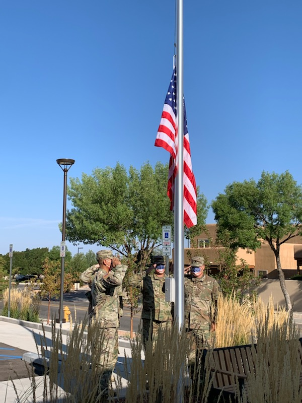Amaran Senior Living in Albuquerque Observes 9/11 Remembrance Ceremony with the Army National Guard