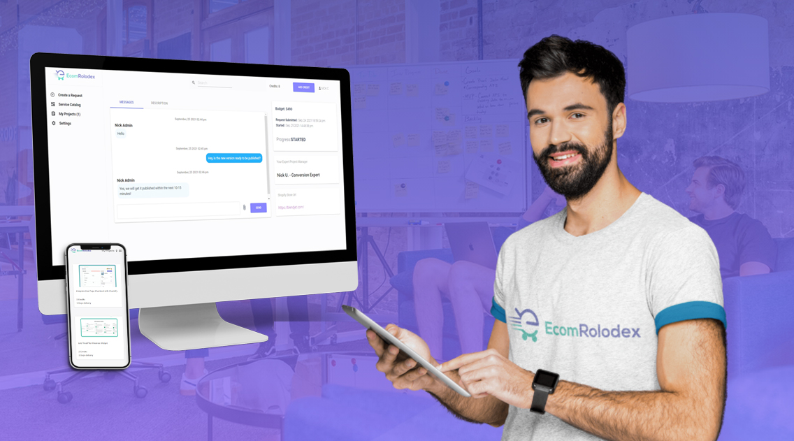 EcomRolodex Launches New Client Dashboard Streamlining Shopify Development Projects