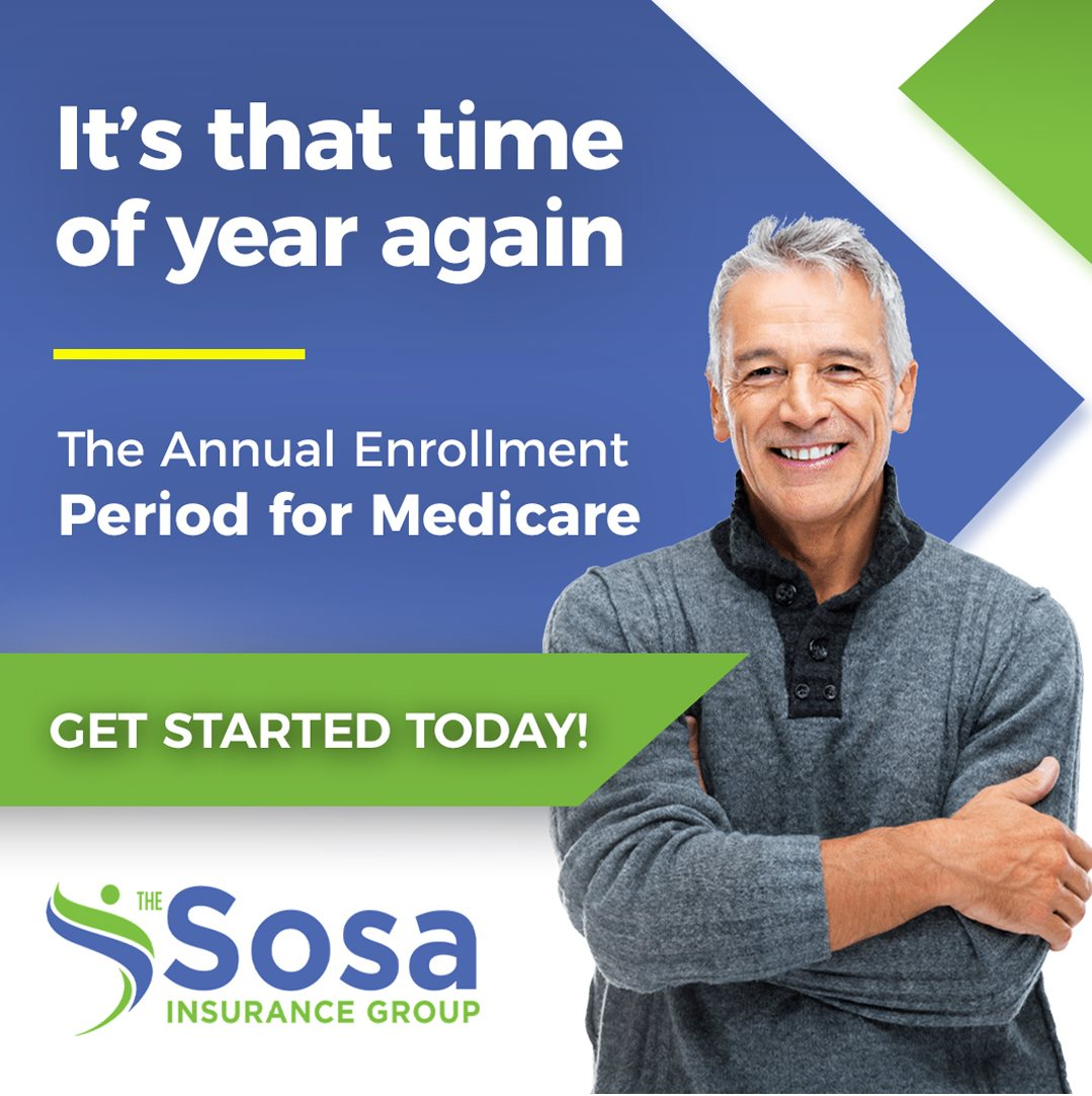 The Sosa Insurance Group launches the Medicare Annual Enrollment Period (AEP) education initiative for Medicare beneficiaries