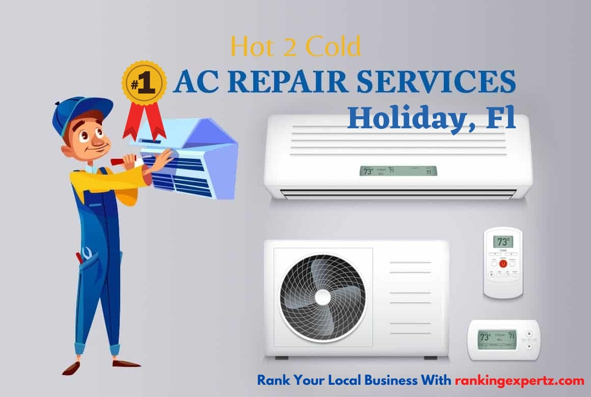 Hot 2 Cold Provides Best AC Repair, Maintenance & Installation Service in Holiday, FL