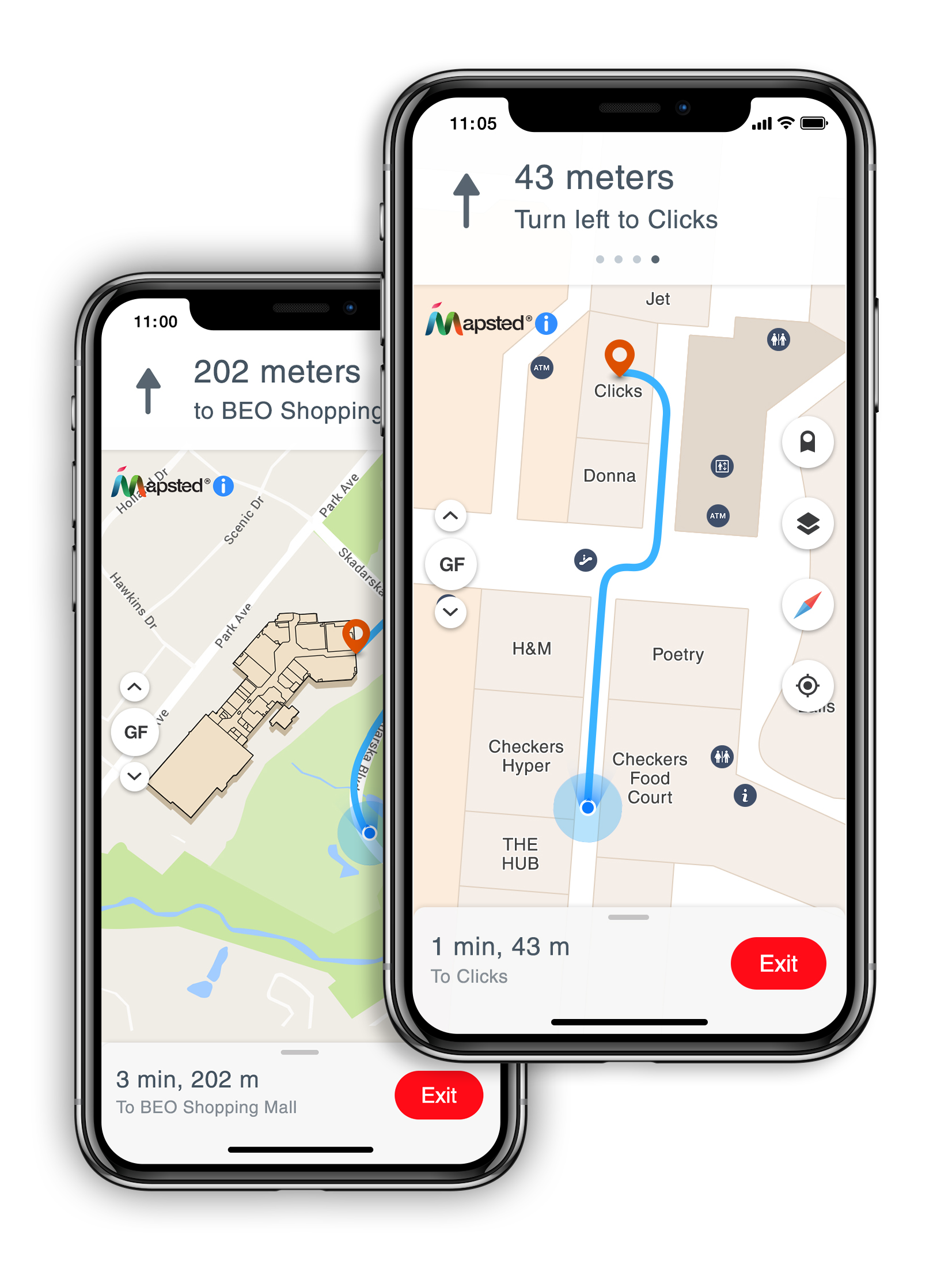 Mapsted Makes Indoor Navigation Possible