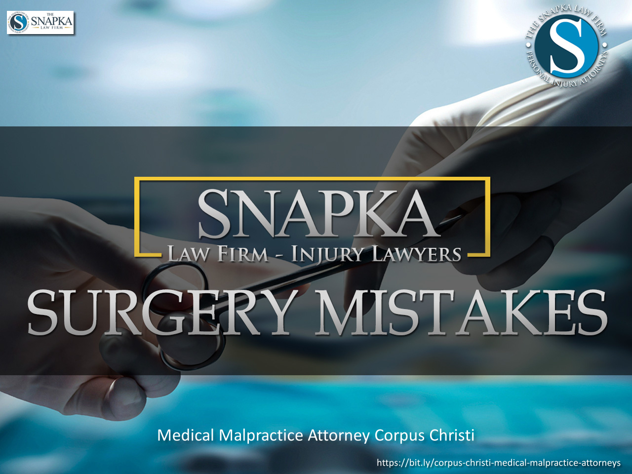 The Snapka Law Firm, Injury Lawyers Outlines the Benefits of Hiring Experienced Medical Malpractice Lawyers