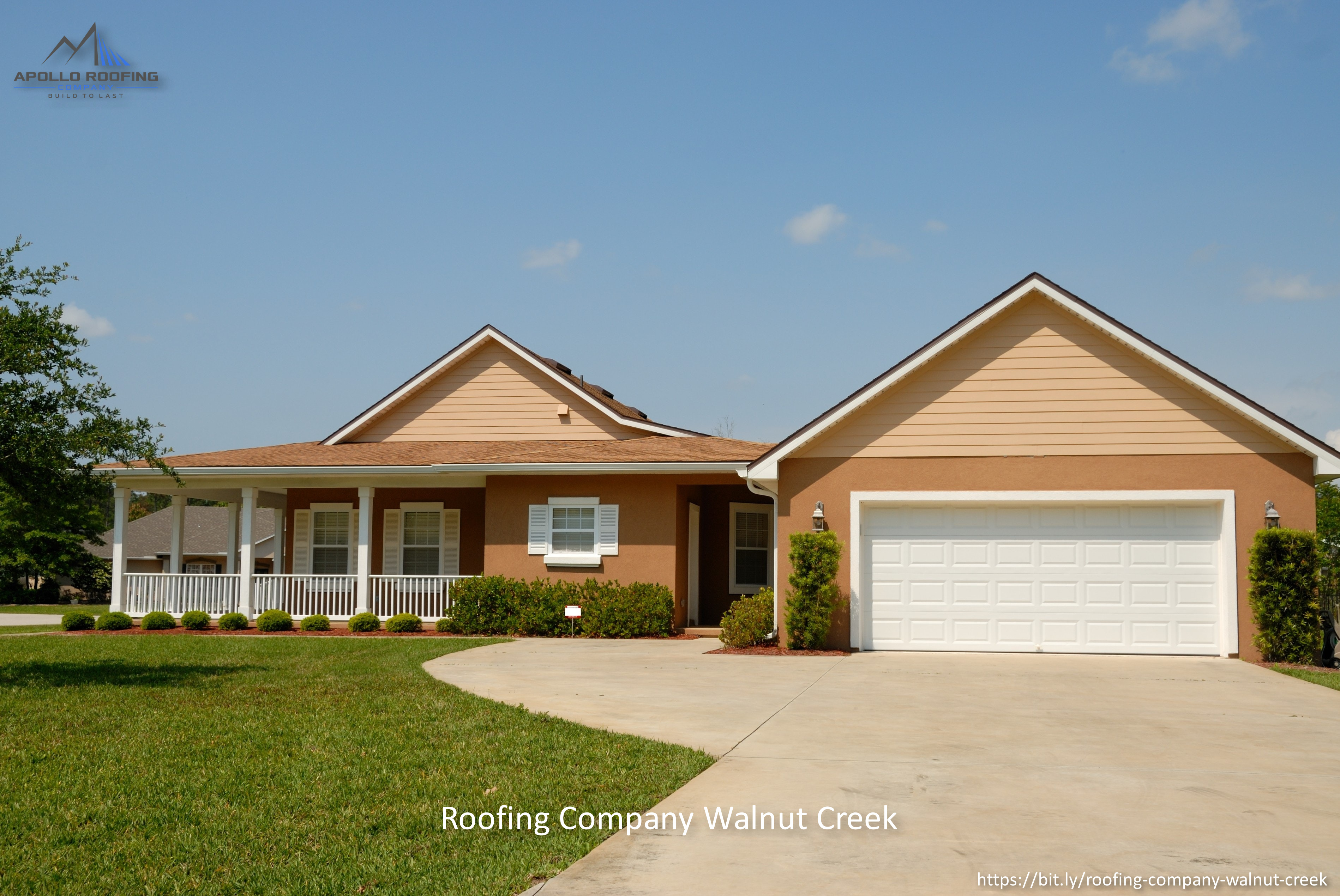 Apollo Roofing Company Highlights the Services they Offer in Walnut Creek